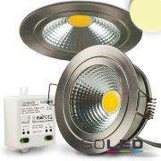 5W 2700K süllyesztett fix LED mélysugárzó dimmelhető 120° szatén-nikkel ISOLED