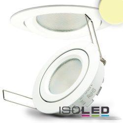 8W 2700K süllyesztett billenthető LED mélysugárzó dimmelhető 140° fehér ISOLED