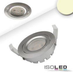 8W 2700K süllyesztett billenthető LED mélysugárzó dimmelhető 140° ezüst ISOLED