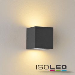 2xGx53 fali lámpa IP44 sötétszürke ISOLED