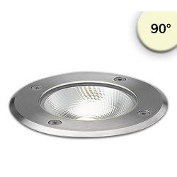 7W meleg fehér taposólámpa kerek IP67 ISOLED