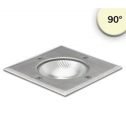6W meleg fehér taposólámpa négyzet IP67 ISOLED