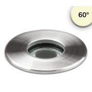 2W meleg fehér taposólámpa 12V IP67 ISOLED