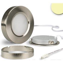 3W meleg fehér süllyesztett/falon kívüli LED bútorvilágító SYS-SLIM IP20 ISOLED