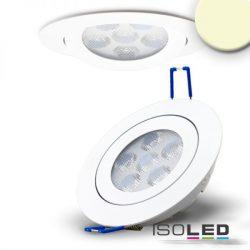 15W 2700K süllyesztett billenthető LED mélysugárzó dimmelhető 72° fehér ISOLED
