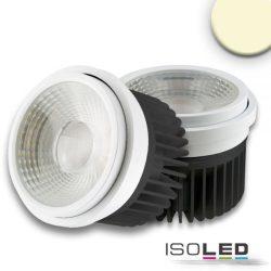 30W AR111 3000K süllyesztett LED mélysugárzó vezérlővel 35-50° ISOLED