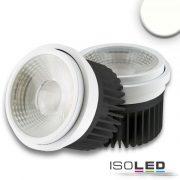 30W AR111 4000K süllyesztett LED mélysugárzó vezérlővel 35-50° ISOLED