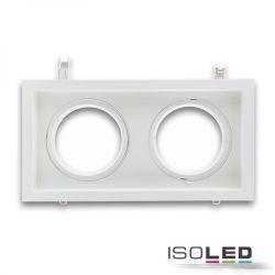 Süllyesztett keret AR11 süllyesztett LED mélysugárzóhoz 2-es szögletes, forgatható ISOLED