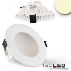 6W 2700K LUNA süllyesztett LED mélysugárzó dimmelhető 120° fehér ISOLED