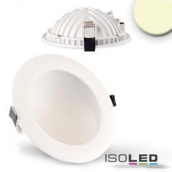 12W 2700K LUNA süllyesztett LED mélysugárzó dimmelhető 120° fehér ISOLED