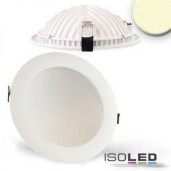18W 2700K LUNA süllyesztett LED mélysugárzó dimmelhető 120° fehér ISOLED