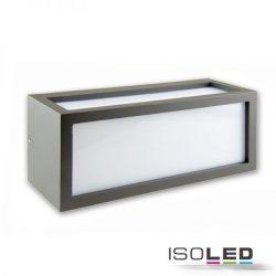 1xE27 BOX-2 fali lámpa IP54 sötétszürke ISOLED