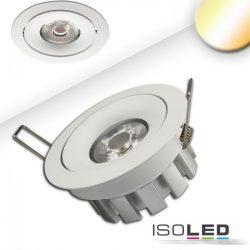 15W 2000-2800K süllyesztett billenthető LED mélysugárzó CRI99 45° színhőmérséklet szabályozható ISOLED