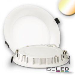 15W színhőmérséklet változtatható süllyesztett LED mélysugárzó dimmelhető 110° fehér kúpos ISOLED