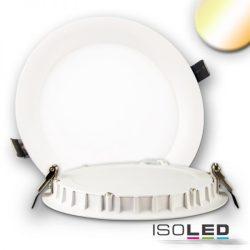 24W színhőmérséklet változtatható süllyesztett LED mélysugárzó dimmelhető 110° fehér kúpos ISOLED