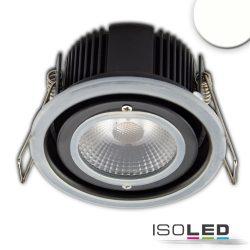 LED süllyesztett szpotlámpa, 10W, IP65, semleges fehér, dimmelhető (burkolat nélkül)