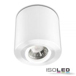 Mennyezeti lámpa kerek GU10/MR16 alumínium fehér izzó nélkül ISOLED