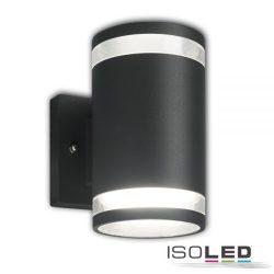 2XGx53 fali lámpa két irányú IP54 sötétszürke ISOLED