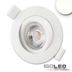 15W 4000K süllyesztett billenthető LED mélysugárzó CRI90 dimmelhető 45° fehér ISOLED