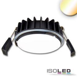 LED süllyesztett szpotlámpa Sys-90, 12W, ColorSwitch 3000K|4000K, dimmelhető (burkolat nélkül) Isoled