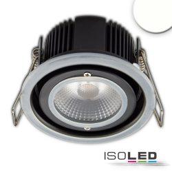 LED süllyesztett szpotlámpa,10W, IP65, semleges fehér,Push vagy Dali-dimmelhető (fedél nélkül) Isoled