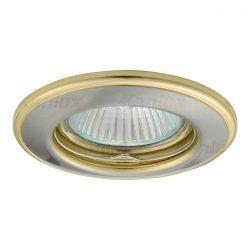 Beépített spot keret szatám nikkel - arany HORN CTC-3114-SN/G MR16 Kanlux