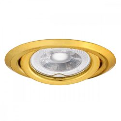 Beépíthető spot keret arany ARGUS CT-2115-G MR16 Kanlux