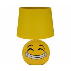 Strühm Emoji asztali lámpa sárga