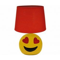Strühm Emoji asztali lámpa piros