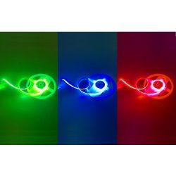 11W COB RGB LED szalag folytonos, homogén fénnyel 24V 864LED/m Ledfutar