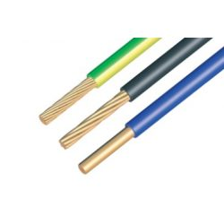 MCU 1x2,5mm2 vezeték zöld-sárga/kék/fekete