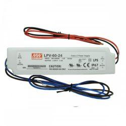 60W IP67 60W-24V led tápegység Mean Well