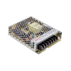 100W LRS-100-12 IP20 fémházas LED tápegység Mean Well