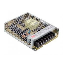 100W LRS-100-5 IP20 fémházas LED tápegység Mean Well