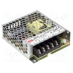 Mean Well 35W LRS-35-12 IP20 fémházas LED tápegység