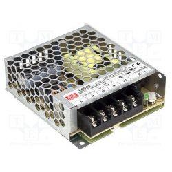 35W LRS-35-12 IP20 fémházas LED tápegység Mean Well