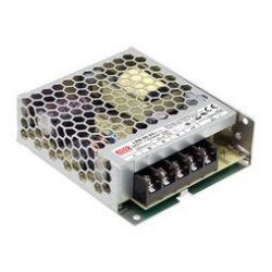 Mean Well 50W LRS-50-24 IP20 fémházas LED tápegység