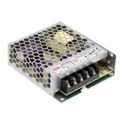 50W LRS-50-24 IP20 fémházas LED tápegység Mean Well
