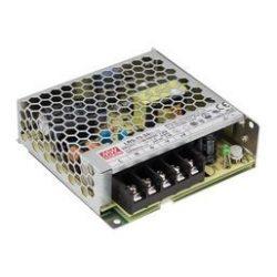 Mean Well 75W LRS-75-24 IP20 fémházas LED tápegység