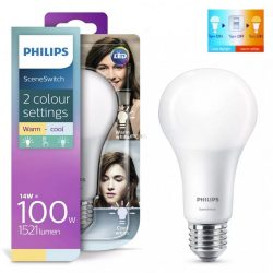 PHILIPS 14W E27 LED A67 SceneSwitch