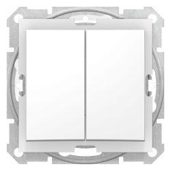 Schneider Sedna csillárkapcsoló 105-ös fehér keret