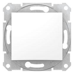 Schneider Sedna 106-os kapcsoló fehér