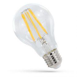 9W E27 meleg fehér filament LED körte Spectrum