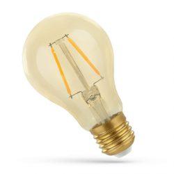 2W E27 meleg fehér filament LED körte Spectrum