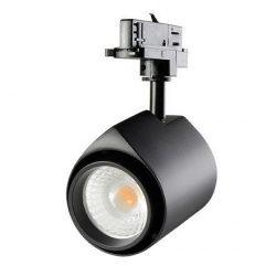 LED sínes lámpa LUX 3000K meleg fehér 22W D 25D BK Tungsram