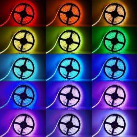 Beltéri színes LED szalag