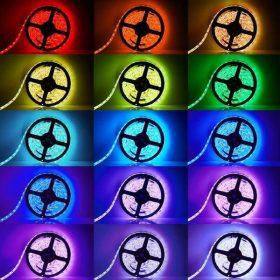 Kültéri színes LED szalag